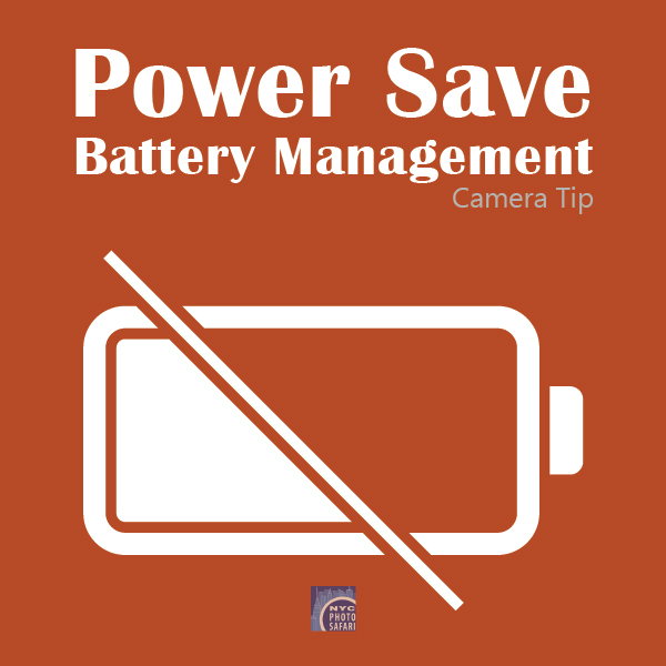 Camera Tip: Battery Management