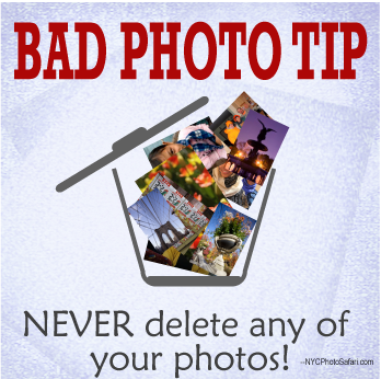 bad photo tips