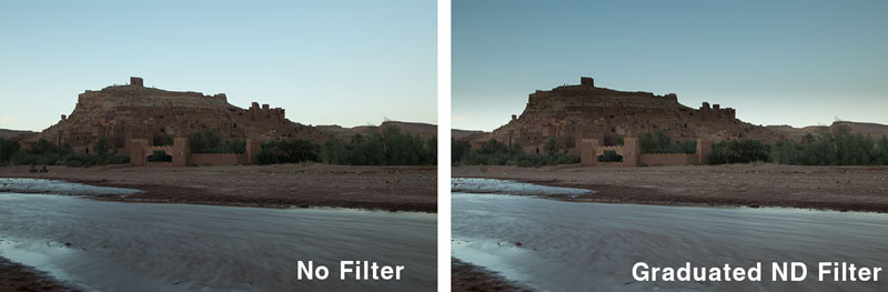 Grad ND filter photo tips