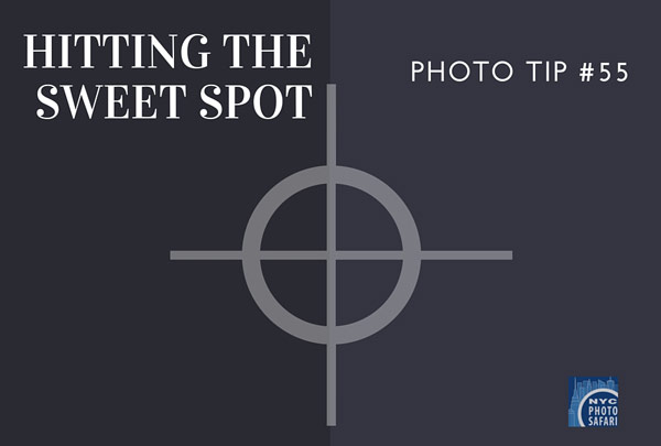 understanding the sweet spot of a lens