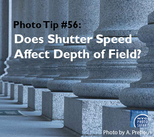 understanding shutter speed photo workshop