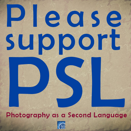 Please support PSL (Photography as a Second Language) -- NYC Photo Safari