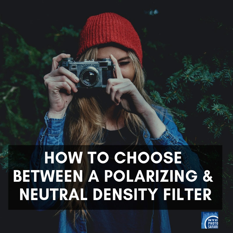 Polarizing vs Neutral Density Filter