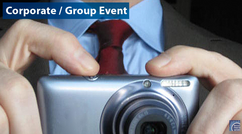 Group Sales - photo tours